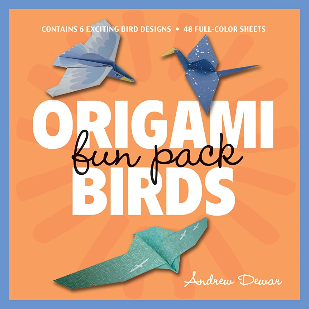 Origami Birds Fun Pack: Make Colorful Origami Birds with This Easy Origami Kit: Includes Origami Book with 6 Projects and 48 Origami Papers