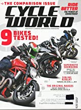Cycle World 2016 America's Leading Motorcycle Magazine THE COMPARISON ISSUE: 9 BIKES TESTED Ride Better: The Power Of Commitment