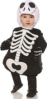 UNDERWRAPS Kid's Toddler's Halloween Skeleton Belly Babies Costume Childrens Costume, Black, Extra Large