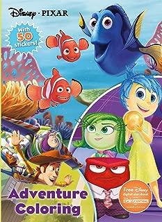 Disney Pixar Adventure Coloring (Jumbo Coloring with 50 Stickers)