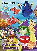 Disney Pixar Adventure Coloring: with 50 Stickers! (Jumbo Coloring with 50 Stickers)
