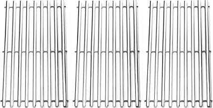 BBQration Stainless Steel Channel Cooking Grid Replacement for Gas Grill Model Charbroil 463440109, Sold as a set of 3