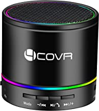 Wireless Bluetooth Speaker - Forcovr Mini LED Best Multi-Function Portable Indoor Outdoor Stereo Bluetooth Speakers Bass HD Surround, Built-in Microphone, FM Radio, Handsfree Call, AUX Input