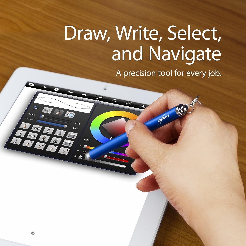 Lunar Blue FineTouch Capacitive Stylus BoxWave Tomtom GO 6100 Stylus Pen Super Precise Stylus Pen for Tomtom GO 6100