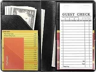 Sponsored Ad - Mymazn Black Server Books for Waitress Book Waiter Book Server Booklet Restaurant Waitstaff Organizer, Serv...