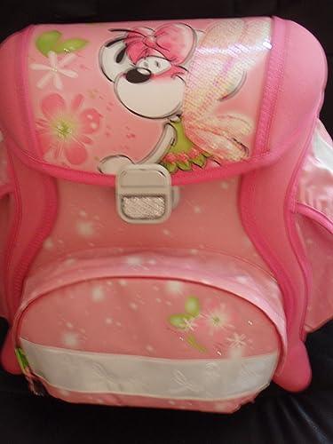 Depesche Diddlina Schultaschenset - 3-teilig, Größer Innenraum mit viel Platz. ergonomisch geformte Rückenschale