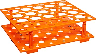 Benchmark Scientific MAGic Clamp H1000-MR-1550 Tube Rack for Platform Shaker, 21 x 15ml and 12 x 50ml Centrifuge Tubes