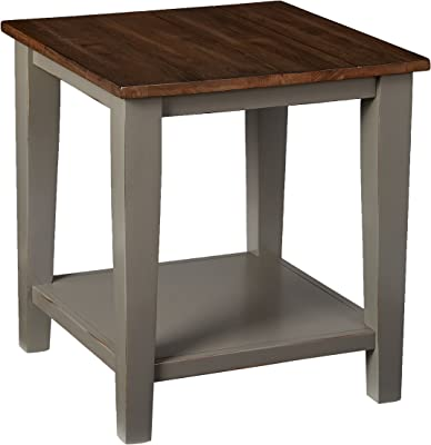 Lane Home Furnishings End Table, Greige/Gray