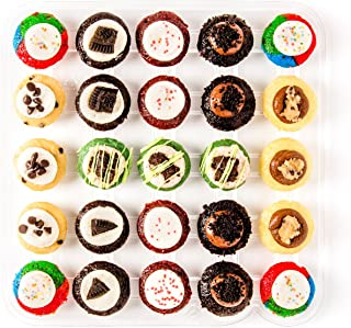 Baked by Melissa Cupcakes The P.S. O.G. (Party Safe - no nut flavors) - Assorted Bite-Size Cupcakes, 25 Count