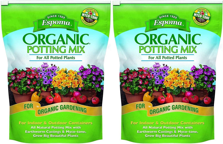 返品不可 格安 価格でご提供いたします Espoma AP8 8-Quart Mix Organic Potting