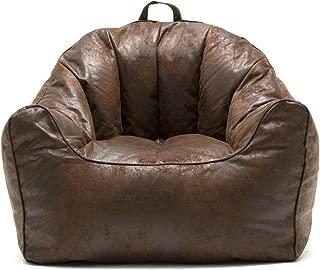 Big Joe Large Hug Bean Bag Chair in Espresso