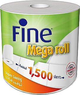 Fine Mega Roll - 1500 Sheet x 1 Ply