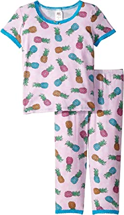 Short Sleeve Top and Pants Set (Little Kids)