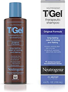 Neutrogena T/Gel Therapeutic Shampoo Original Formula, Anti-Dandruff Treatment for Long-Lasting Relief of Itching and Flak...