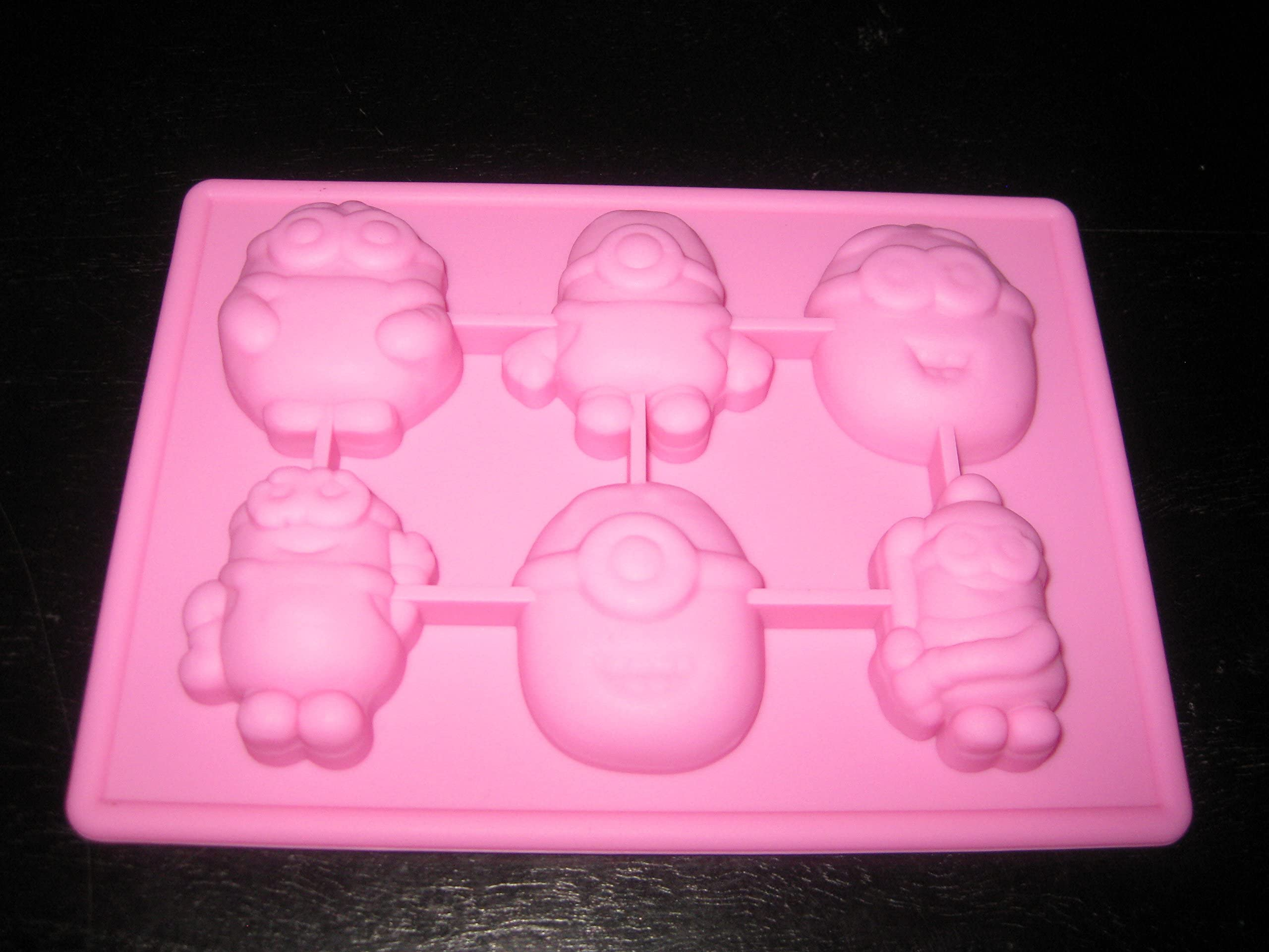 the Plastic form.bath bomb molds the Form for chocolate Minion the Soap mold Form a minion