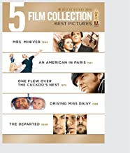 5 Film Collection Best Pictures 2: ( Mrs. Miniver / An American In Paris / One Flew Over The Cuckoo's Nest / Driving Miss Daisy / The Departed)