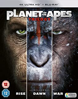 Planet Of The Apes Trilogy 4K Ultra HD + Bluray 6 Disk Exclusive Limited Edition Region Free
