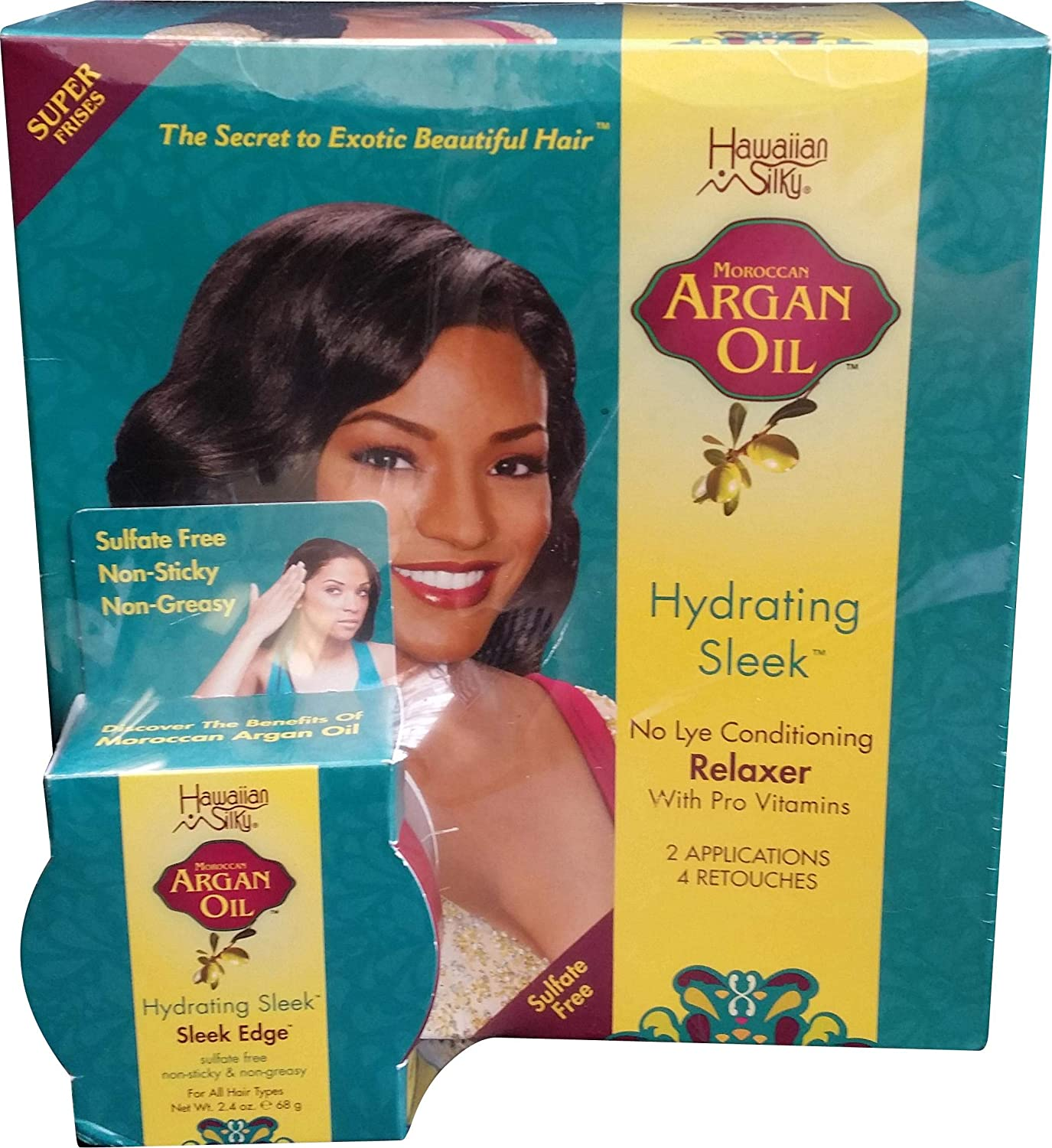 Clearance SALE Limited time Hawaiian New item Silky Argan No Lye 2 Pack of 3 Application Super