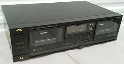JVC TD-W444 Recordable Stereo Double Cassette Tape Deck Complete with Audio Vido Cables and Digital PDF Service Manual - Japan