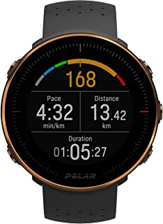 POLAR VANTAGE M –Advanced Running & Multisport Watch with GPS and Wrist-based Heart Rate (Lightweight Design & Latest Tech...