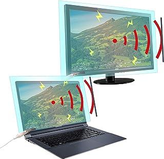 KOREA XRANGER EMF Screen Protector - Size M (upto 27 inch) Screen Protector ALL Upgraded – RF EMF, Blue Light, Transparenc...