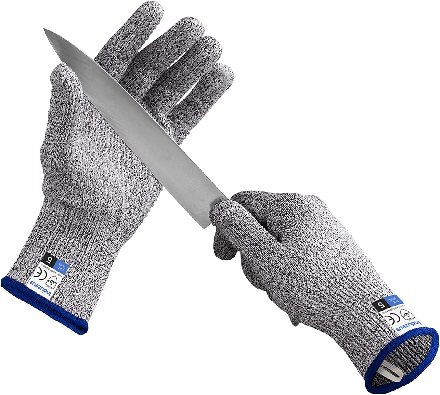 Induzeug Cut Resistant Gloves with Dots Non-slip G Food Indianapolis Mall 5 popular Silicone