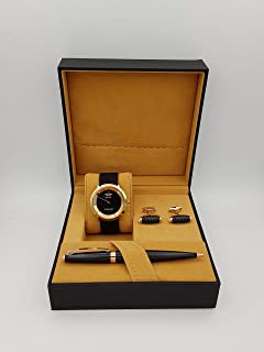 New Fande Watch Set For Men Analog Leather - NF007141-2