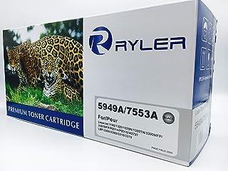 خراطيش حبر متوافقة من رايلر لكاميرا Q5949A/Q7553A Canon CRG 708- أسود