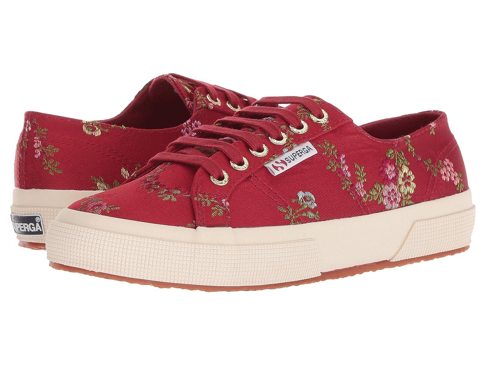 Superga 2750 SatinjacquardflowerwAtmospheric grades have affordable shoes