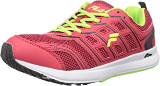Fila Men's ARTO RD/BLK/LEM Running Shoes-8 UK (42 EU) (9 US) (11005511)