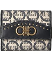 Salvatore Ferragamo - Embroidered Wallet