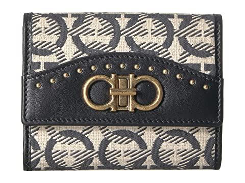 Salvatore Ferragamo Embroidered Wallet