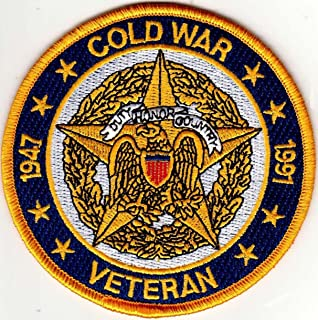 U.S MILITARY EMBROIDERED PATCH - COLD WAR VETERAN