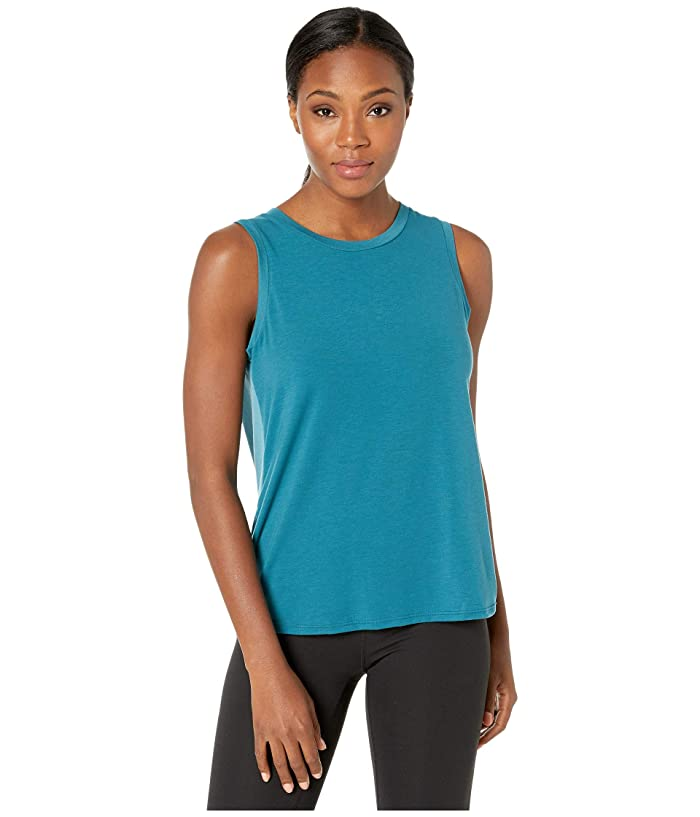 The North Face  Workout Novelty Tank Top (Blue Coral/Storm Blue) Womens Sleeveless
