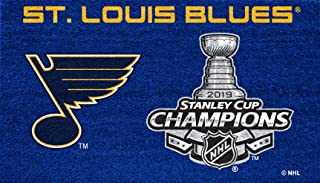 Team Sports America 2019 NHL St. Louis Blues Stanley Cup Champions Door Mats