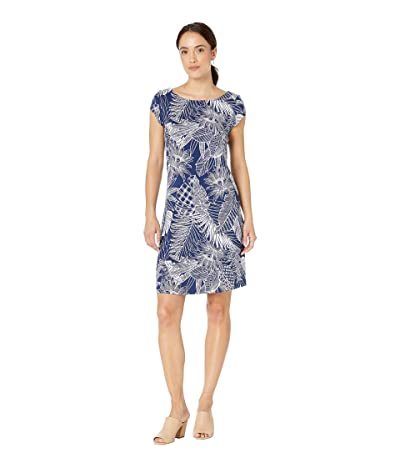 Tommy Bahama Lava Cove Short Sleeve Dress (Island Navy) Women
