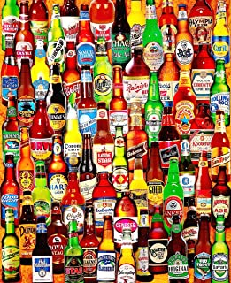 """Jigsaw Puzzle 1000 Pieces 24""""X30""""-99 Bottles Of Beer On The Wall"""