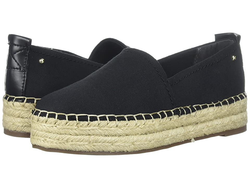 Circus by Sam Edelman Camdyn (Black Canvas/Smooth Atanado Veg) Women