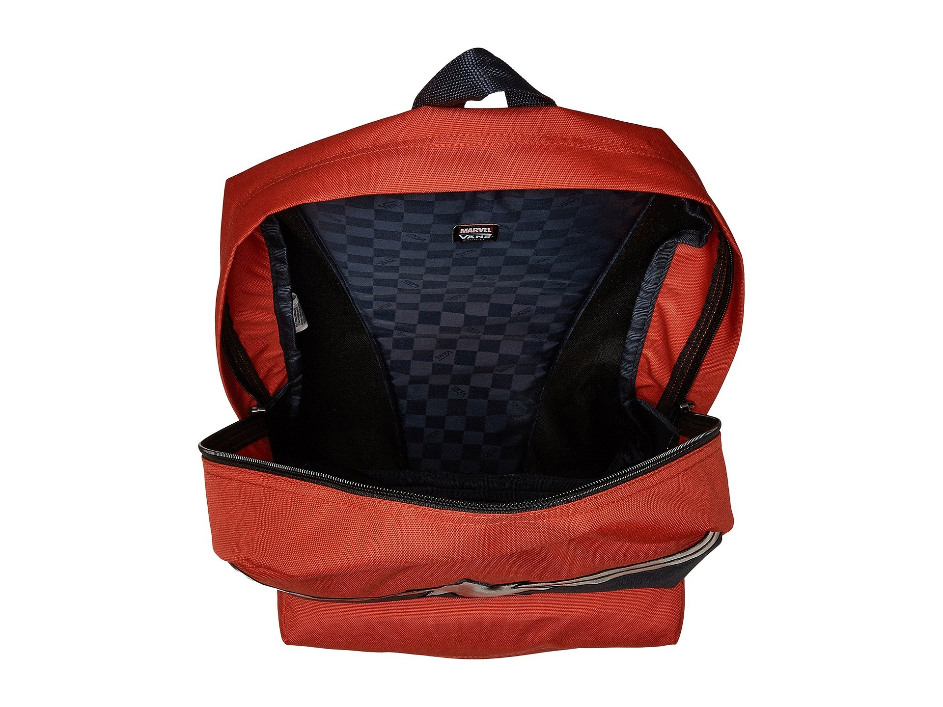 Backpack Marvel Realm Red Captain Vans Racing BwtqZEyx5