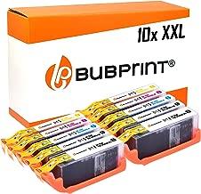 10 Bubprint Druckerpatronen kompatibel für Canon PGI-580 CLI-581 XXL Pixma TR7550 TR8500 TR8550 TS6100 TS6150 TS6151 TS6250 TS705 TS8150 TS8151 TS8250 TS9150 TS9155 TS9550 Multipack