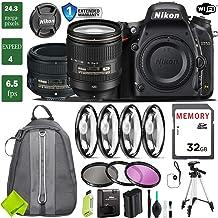 $2193 Get Nikon D750 DSLR Full Frame Camera with 24-120mm VR Lens & Nikon 50mm f/1.4G Lens + 4 Piece Macro Close-Up Set + 3PC Filter Kit (UV FLD CPL) + Tripod + Backpack + 1 Year Extended Warranty