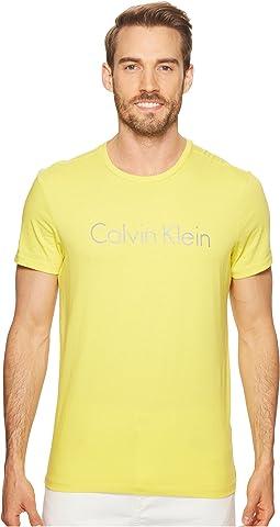 Space Dyed Calvin Klein Logo Jersey Tee - Seasonal