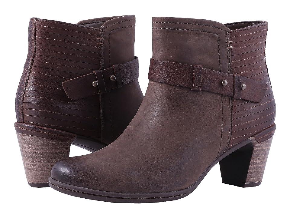 Rockport Cobb Hill Collection Cobb Hill Rashel Buckle Boot (Stone Nubuck) Women