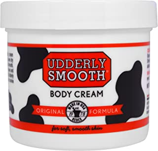 Udderly Smooth Body Cream 12 oz (Pack of 2)
