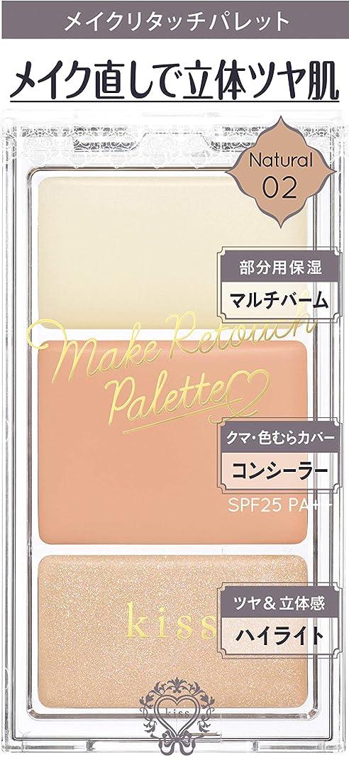 恐れ階段毎週kiss(キス) メイクリタッチパレット02 アイシャドウ マルチカラー 3.6g