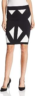 Women's Natalee Geometric Jacquard Pencil Skirt