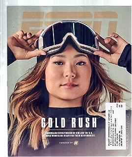ESPN Magazine February 19, 2018 Olympics Gold Rush Snowboard Sensation Chloe Kim