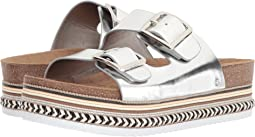 1706667a37a9 Soft Silver Heavy Foiled Metallic Leather