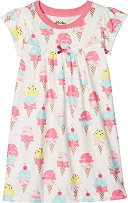 Hatley Kids - Ice Cream Treats Nightdress (Toddler/Little Kids/Big Kids)