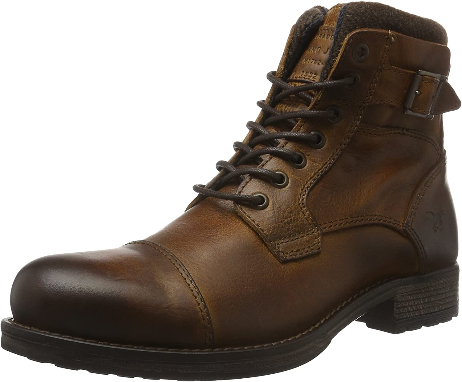 Mustang Men's's Schnür Ankle Boots
